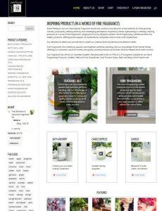 Scent Perfique Shopping Cart Ecommerce Web Site